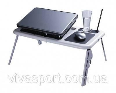 Столик для ноутбука з вентилятором E-Table
