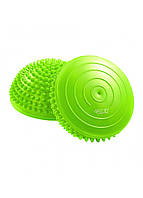 Полусфера массажная балансировочная (массажер для ног, стоп) 4FIZJO Balance Pad 16 см 4FJ0059 Green, фото 1