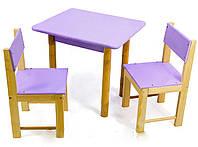 Столик детский  деревянный