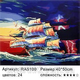 Картина по номерам 40х50
