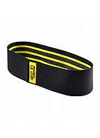 Резинка для фитнеса и спорта тканевая 4FIZJO Hip Band Size L 4FJ0069, фото 1