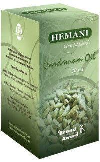 100% Натуральное  масло кардамона  Hemani 30 мл