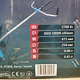 Чешская Четырёхтактная Бензокоса GRAND 5700 БГ-4T мотокоса, фото 9