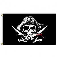Піратський прапор «Веселий Роджер» 90х150см