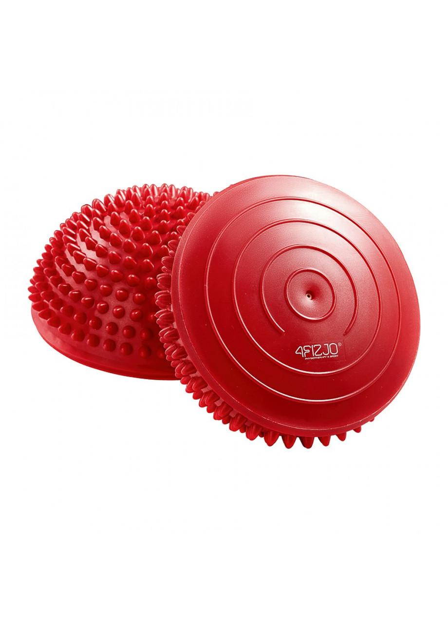Полусфера массажная балансировочная (массажер для ног, стоп) 4FIZJO Balance Pad 16 см 4FJ0109 Red