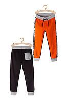 Спортивні штани для хлопчика 164 см, штани спортивні 5.10.15, помаранчевий