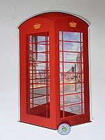 Телефонная будка. Настенная декорация