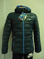 Куртка RLX  синяя с синим
