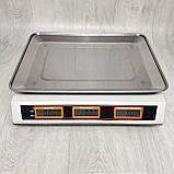 Торговые весы Grunhelm GSC-052 до 40 кг, фото 4