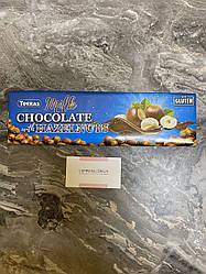 Молочный шоколад Torras с фундуком без глютена 300 грм
