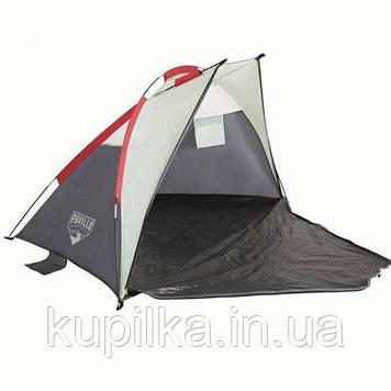 Палатка туристическая 68001 (200*100*100 см), 2-местная, сумка