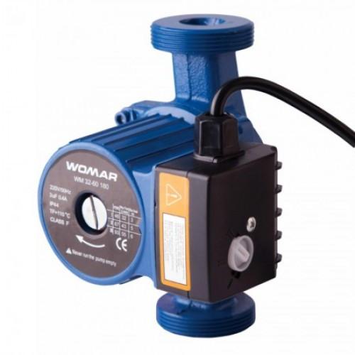 Циркуляційний насос для систем опалення WOMAR WM 32-6/180