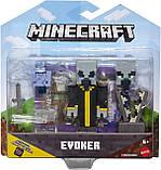 Набор фигурок Майнкрафт Эвокер и Векс Minecraft Comic Maker Multipack Attack Set with Evoker and Vexes, фото 4