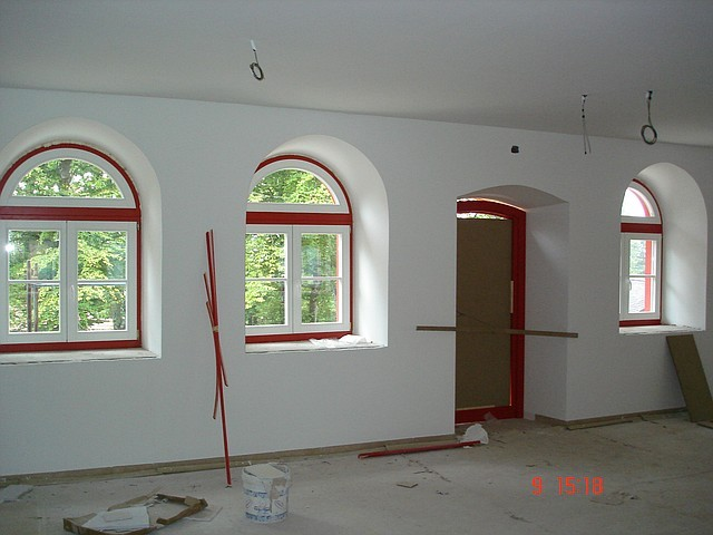 Двухцветные окна