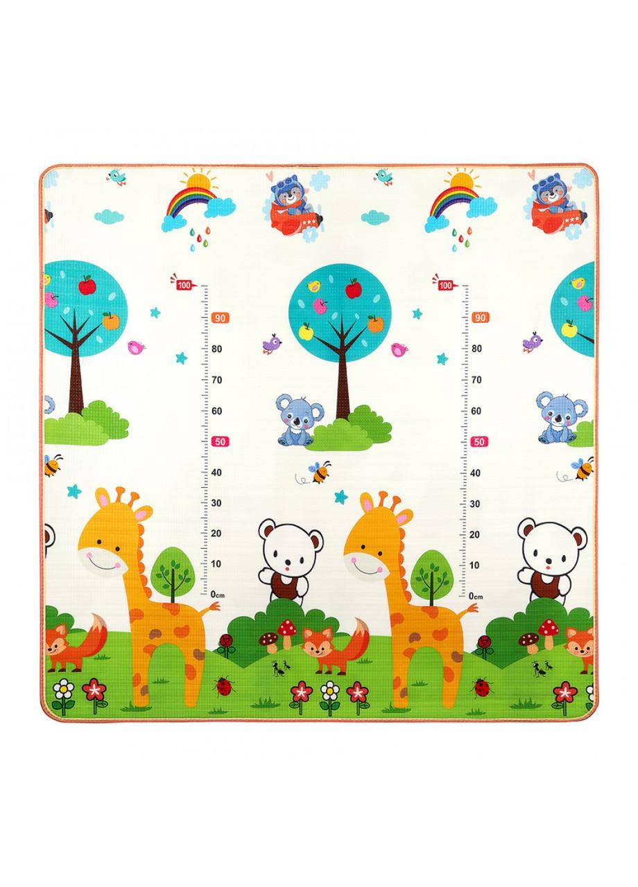 Развивающий детский коврик двухсторонний 4FIZJO KIDS 180 x 180 x 1 см 4FJ0161