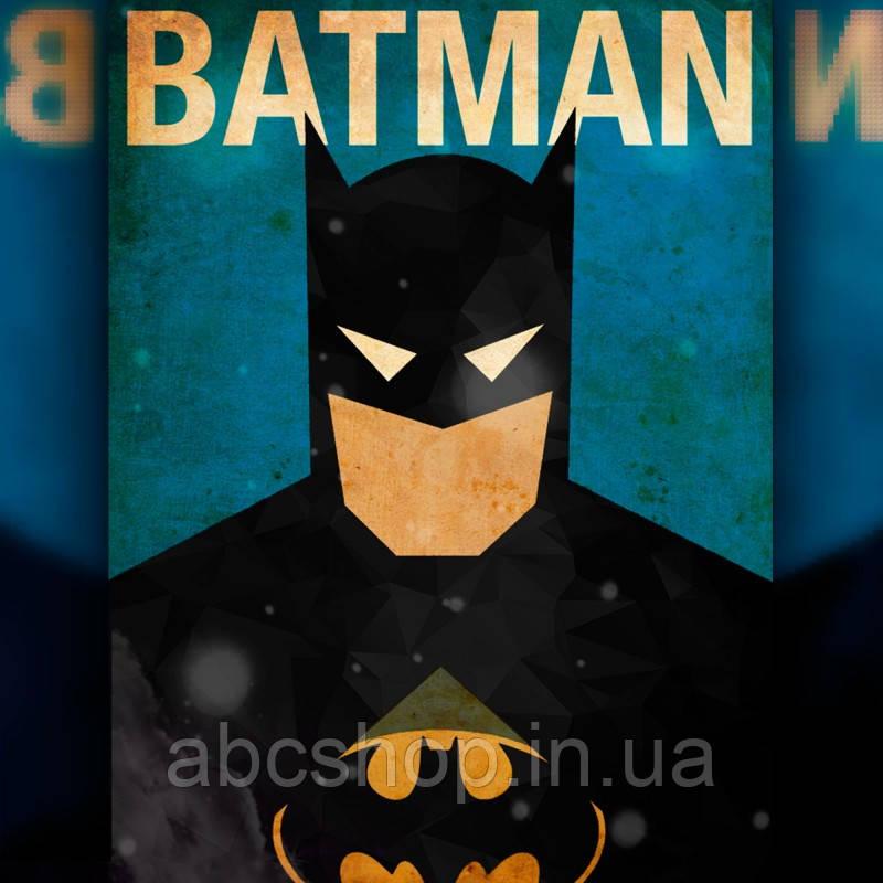 Алмазная вышивка Постер Бэтмена 30x40 The Wortex Diamonds (TWD40006)