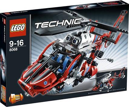 Lego Technic Спасательный вертолет 8068