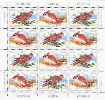 Красная книга, Фауна Украины
