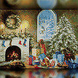 Алмазная вышивка Комната перед Рождеством 30x40 The Wortex Diamonds (TWD70011), фото 2