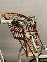 Велокресло на руль из лозы