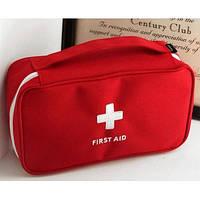 Аптечка червона FirstAid (чохол без вмісту) 23x13x7см