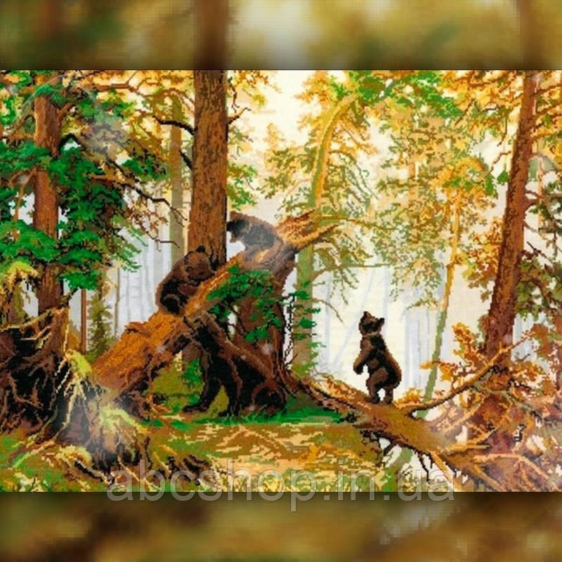 Алмазная вышивка Мишки в лесу 30x40 The Wortex Diamonds (TWD20033)