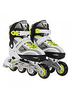 Роликовые коньки SportVida SV-LG0052 Size 35-38 Grey/Yellow, фото 1