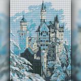 Алмазная вышивка Зимний замок 30x40 The Wortex Diamonds (TWD30035), фото 2