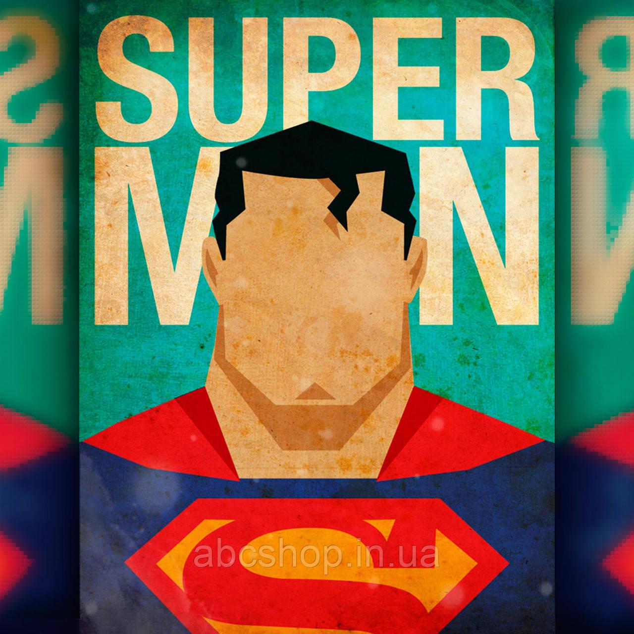 Алмазная вышивка Постер Супермена 40x50 The Wortex Diamonds (TWD40001L)