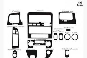 Накладки на панель (1995-1998) - Toyota Carina E