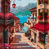 Алмазная вышивка Улица в красных тонах 40x50 The Wortex Diamonds (TWD30014L), фото 2