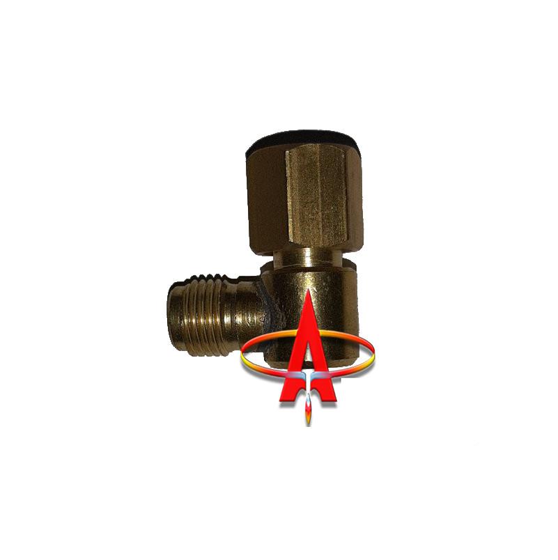 Переходник угловой для увлажнителя кислородного G1/4 - G1/4