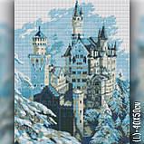 Алмазная вышивка Зимний замок 40x50 The Wortex Diamonds (TWD30035L), фото 2