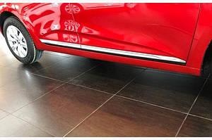 Накладки на дверной молдинг (нерж) - Renault Clio V 2019↗︎гг.