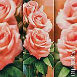 Алмазная вышивка Нежные розы 100х40 The Wortex Diamonds (TWD11008), фото 2