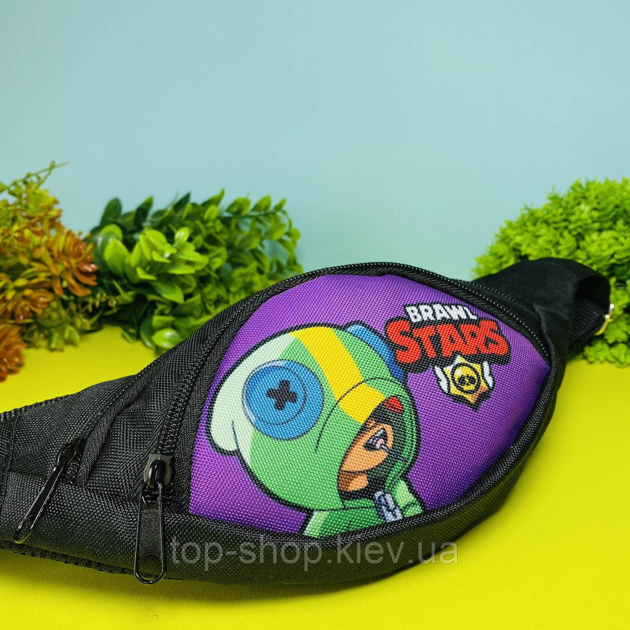 Детская сумка бананка Cappuccino Toys Brawl Stars для мальчика и девочки Бравл Старс