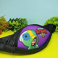 Детская сумка бананка Cappuccino Toys Brawl Stars для мальчика и девочки Бравл Старс, фото 1