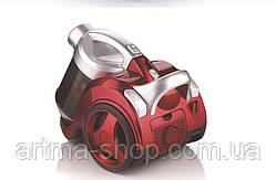 Контейнерный пылесос HAEGER HEPA фильтр, 1200 Ватт, Красный