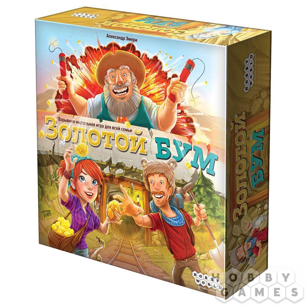 Настольная игра Золотой БУМ