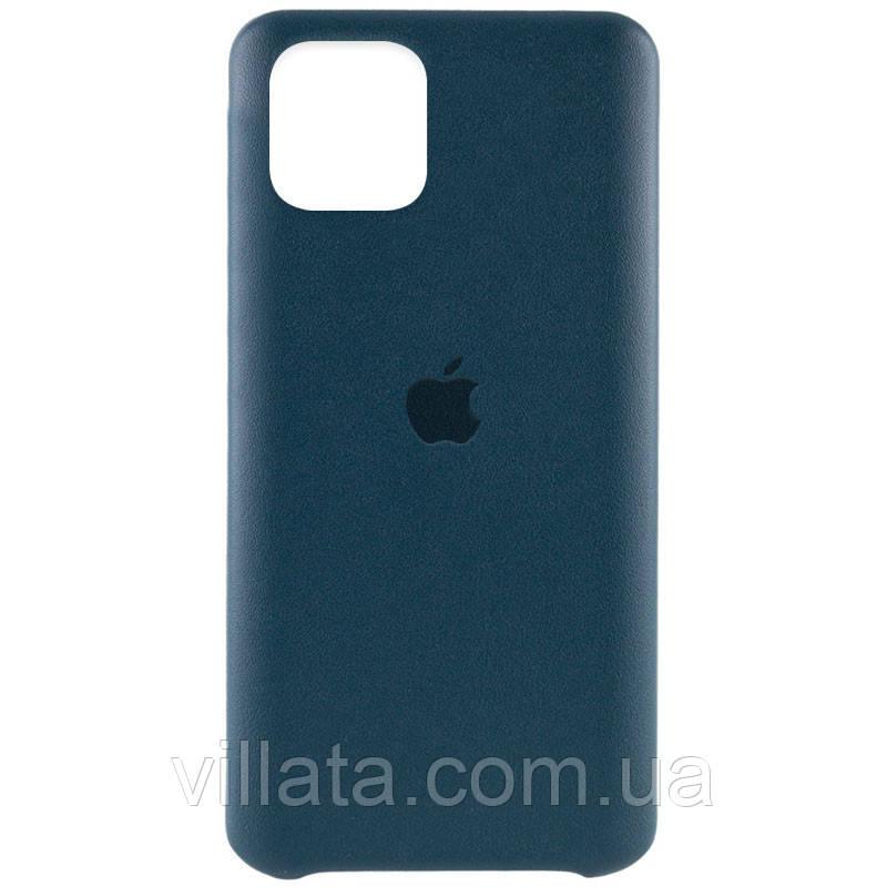 """Кожаный чехол AHIMSA PU Leather Case Logo (A) для Apple iPhone 12 Pro / 12 (6.1"""")"""