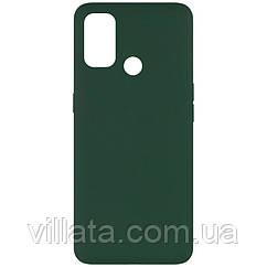 Чехол Silicone Cover Full without Logo (A) для Oppo A53 Зеленый / Dark green