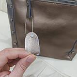 Женская классическая сумка Bronze из натуральной кожи, фото 8