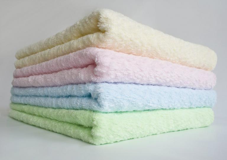 Комплект махровых полотенец ТЕП Naomi (90х50 и 140х70), 100% хлопок.