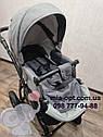 Детская коляска 2 в 1 Classik Len(Классик Лен) Victoria Gold  Графит серая, фото 9