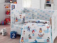 """Набор постельного белья  в кроватку с бортиком и одеялом Cotton Box """"Masal Dunyasi"""""""