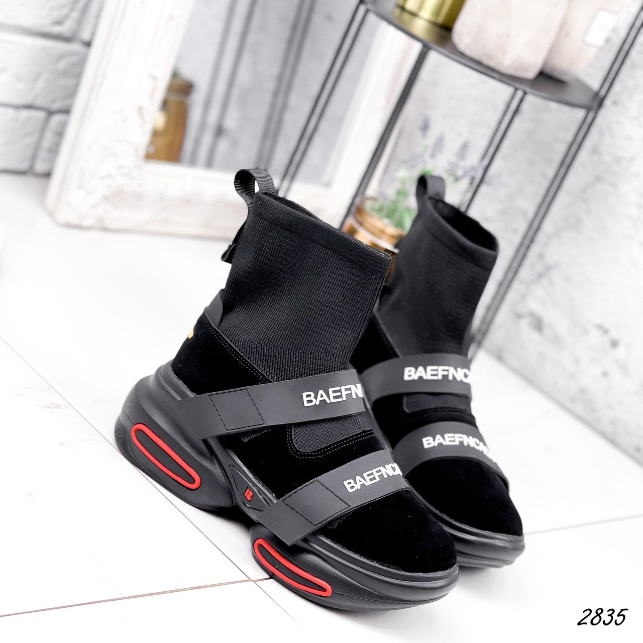 Ботинки женские Lieve черные ДЕМИ 2835