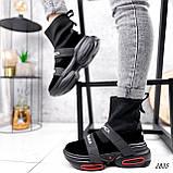 Ботинки женские Lieve черные ДЕМИ 2835, фото 2