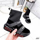 Ботинки женские Lieve черные ДЕМИ 2835, фото 3