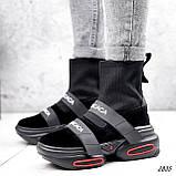 Ботинки женские Lieve черные ДЕМИ 2835, фото 5