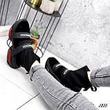 Ботинки женские Lieve черные ДЕМИ 2835, фото 6